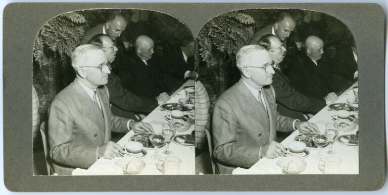 President Truman Goes to Lunch, by Lynn Skeels