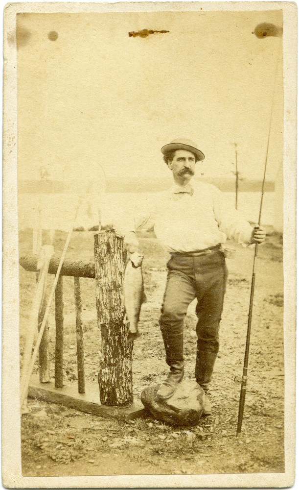 Maine Fisherman CDV