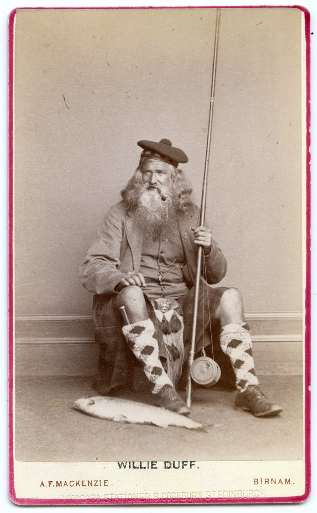 Willie Duff Fisherman CDV