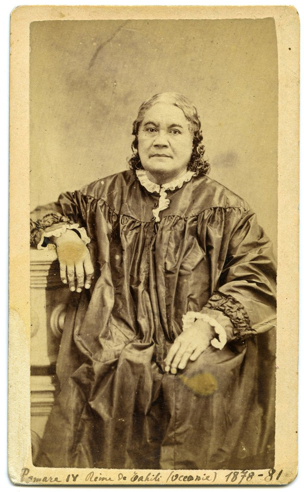 Tahitian Queen CDV by Mrs. Hoare