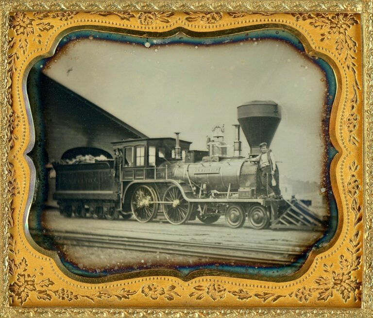 Fitchburg Railroad Engine